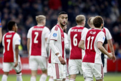 Ziyech e Blind Ajax