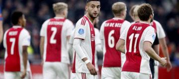 Ziyech e Blind Ajax