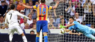 Diego Alves liga pararigori record