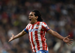 falcao atletico madrid europa league