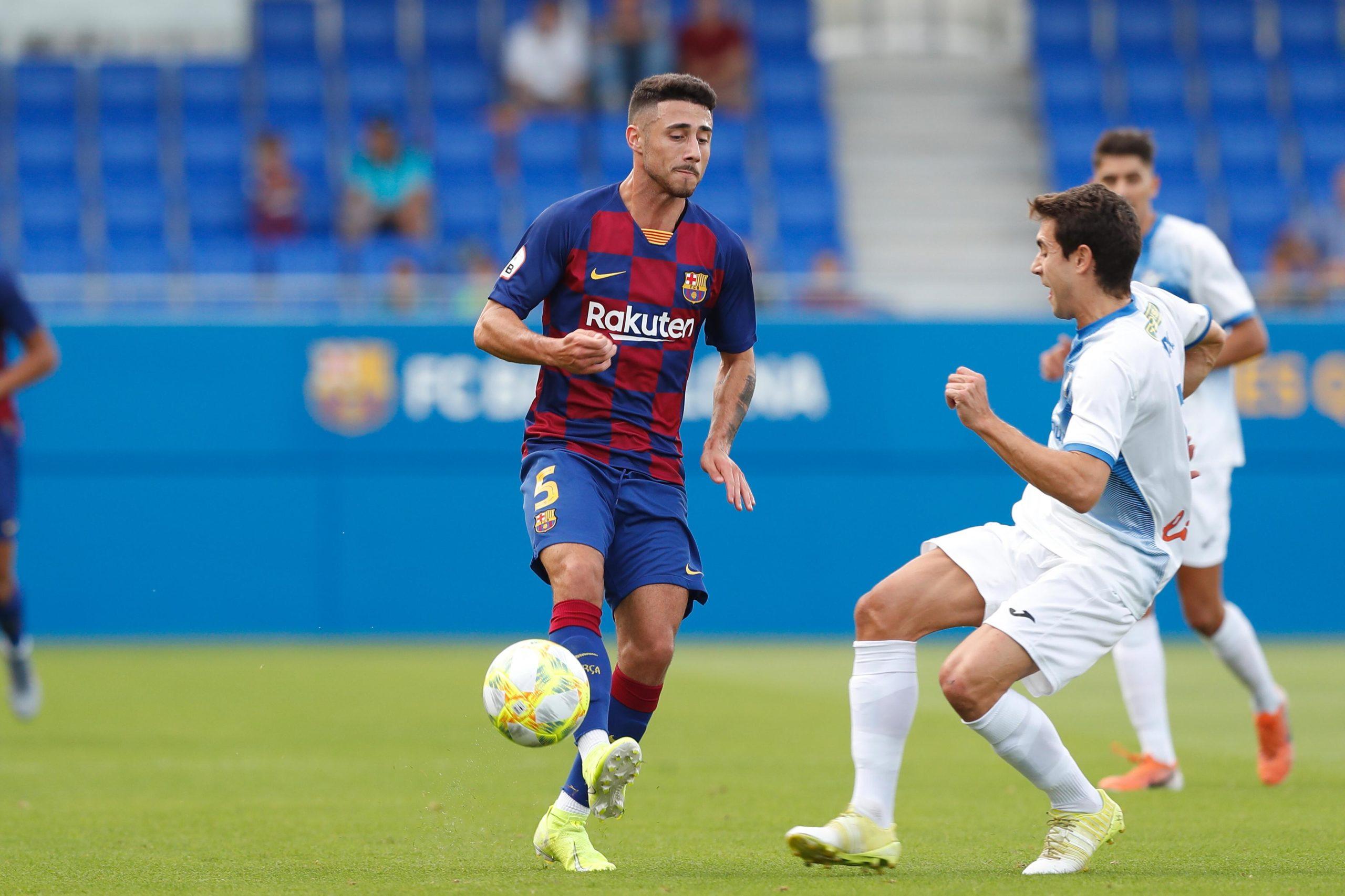 Guillem Jaime Barcelona B SEPTEMBER 14 2019 Football Soccer Spanish La Liga Segunda Divisi
