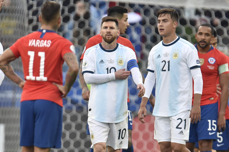 Messi argentina cile