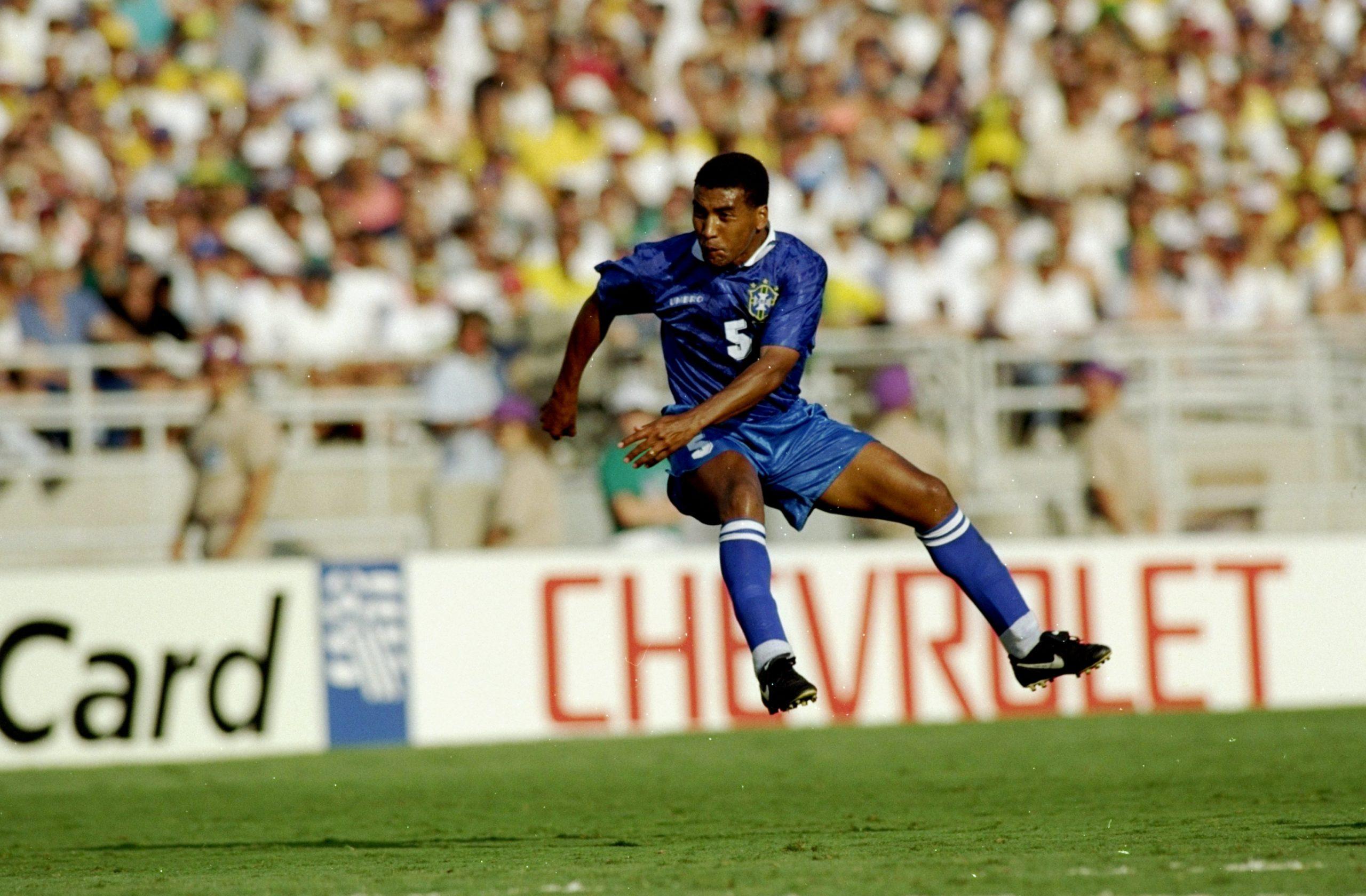 Mauro Silva of Brazil