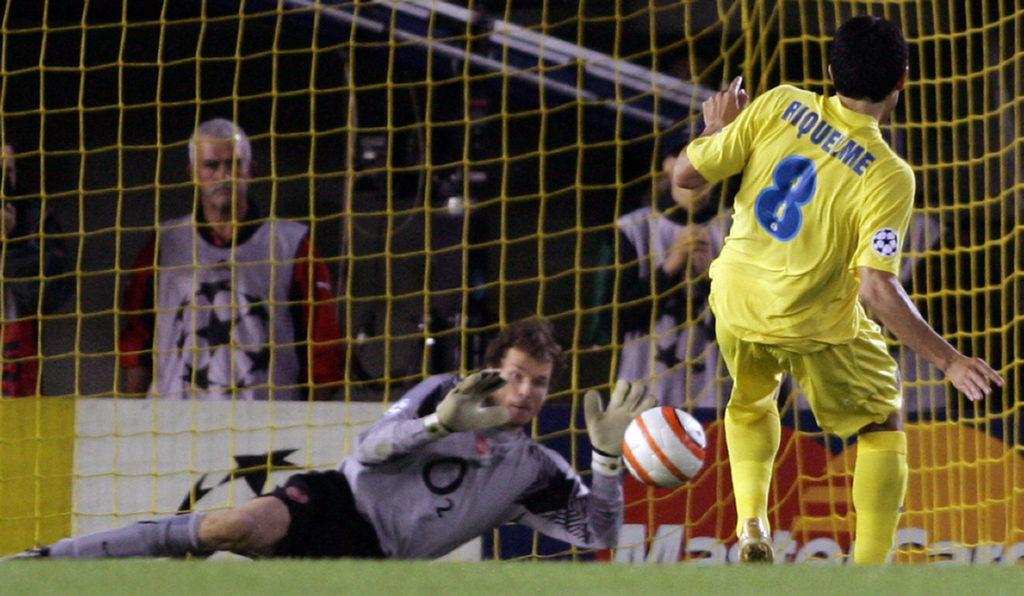 Riquelme Lehmann Villarreal Arsenal