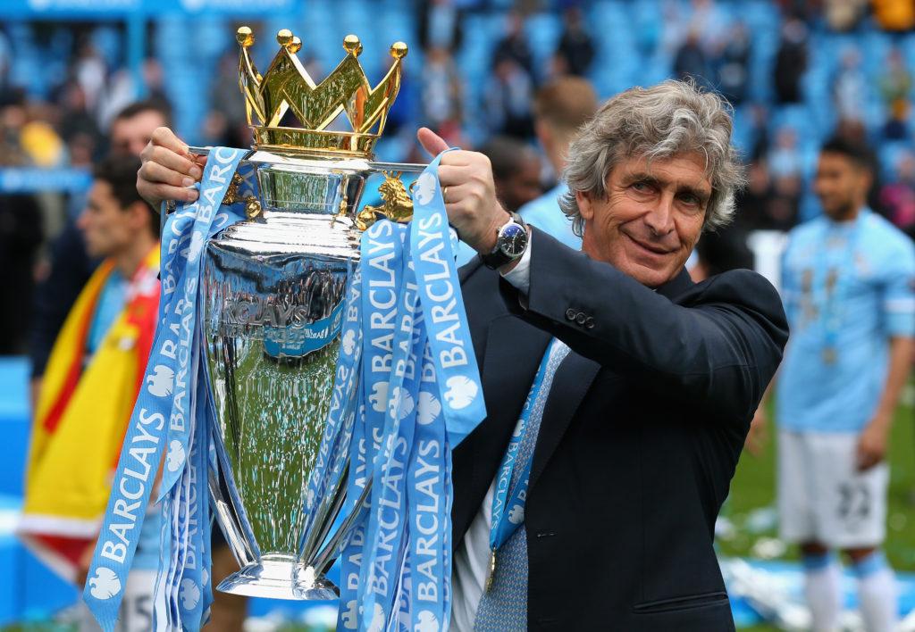 Manuel Pellegrini Manchester City campione