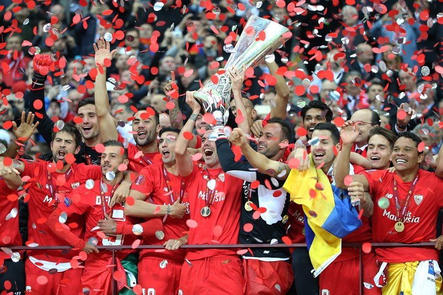Le cinque vittorie del Siviglia in Europa League | Footbola