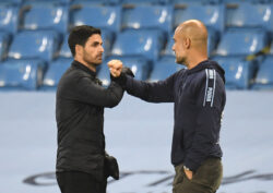 arsenal city arteta guardiola