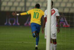neymar brasile record
