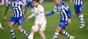 modric alaves real madrid