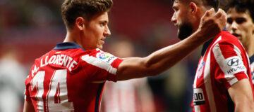 Atlético Madrid llorente