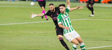 Benzema real madrid betis